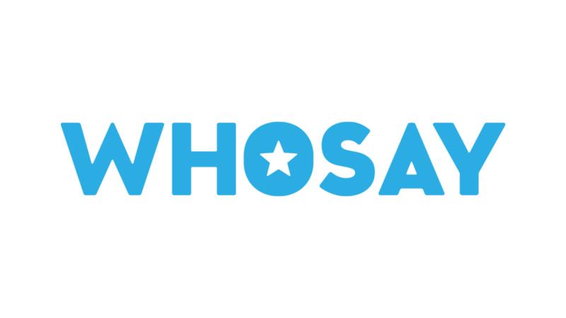 WhoSay logo
