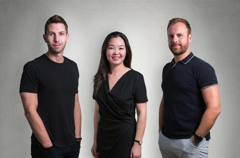 Helen Chen, Dan Piehler and Damien Drap