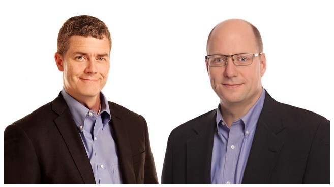 EdgeConneX Co-Founders COO Edmund Wilson and CEO Randy Brouckman